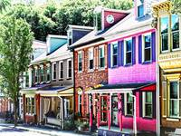 Jim Thorpe Pa - Colorful Street