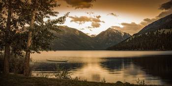 Wallowa Lake Sunset