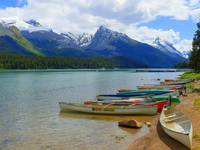 Maligne Lake - Jasper National Park