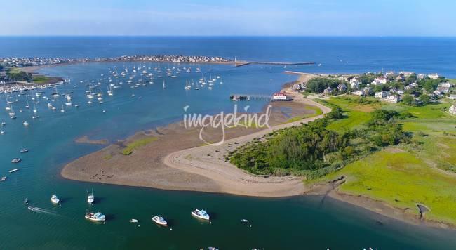 Scituate Harbor Aerial