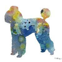 """""""Poodle"""" by k9artgallery"""