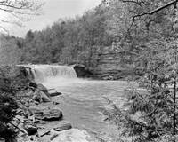 Cumberland Falls on Kodak Film