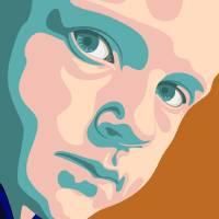 Portrait 01a Art Prints & Posters by Riaan Marais