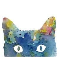 """""""Cat"""" by k9artgallery"""