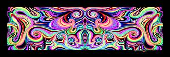 Cosmic Orgasm Chant Mandala Panorama