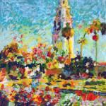 Alcazar Garden Balboa Park by RD Riccoboni