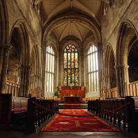 Inside Linlithgow chapel 145 by Richard Thomas