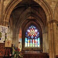 Linlithgow Chapel 144 by Richard Thomas