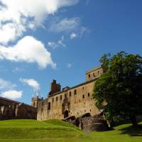 Outside Linlithgow Palace 139 by Richard Thomas