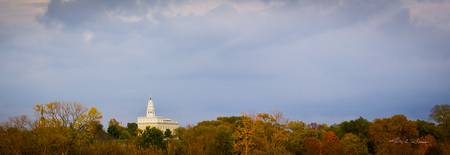 Nauvoo Temple Pano by Kelly Jones