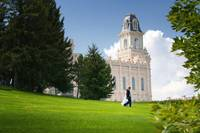 Manti Temple #2 by Kelly Jones