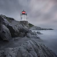 Castle Hill Lighthouse Art Prints & Posters by John Souza