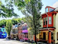 Jim Thorpe Pa - Quaint Street