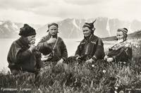 1928 Lyngen Troms, Norway group Mountain Sami peop
