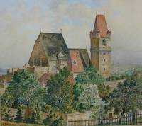 Adolf Hitler Painting perchtoldsdorg church castle
