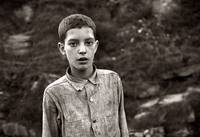 October 1935. Coal miner's child. Omar, West Virgi