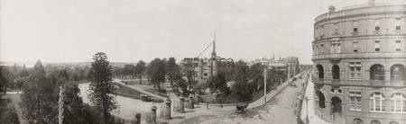 Mitchell Library in course of construction [photog