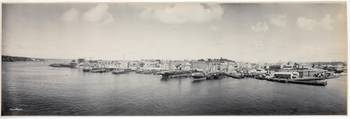 Panorama of Walsh Bay and Millers Point, 1904  by