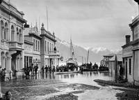 Ballarat Street, Queenstown, NZ, flooded 1878, 187
