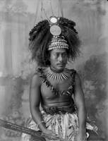 A Samoan High Chief, circa 1899, New Zealand