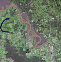 Flooding on the Mississippi River Captured by NASA