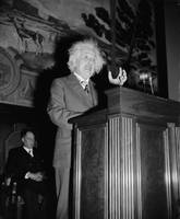 Albert Einstein speaking