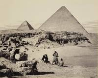 Francis Bedford (1815-94) - Pyramids of Cheops and