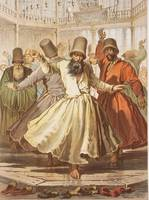 Amedeo Preziosi , Sufi whirling Dancing Dervishes