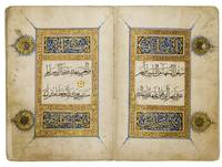 An illuminated Qur'an juz' (II), Egypt or Syria, M