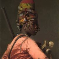 """Black Bashi Bazouk by Jean-Léon Gérôme, French"" by artisticrifki"