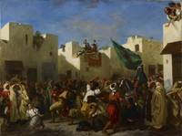 Eugène Delacroix - The Fanatics of Tangier