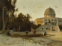 Hermann Corrodi 1844 - 1905   THE DOME OF THE ROCK