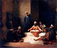 Ludwig Deutsch (1855 - 1935), The Koran School
