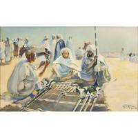 MAURICE ROMBERG ; SELLING WEAPONS IN SOUK EL KHEMI