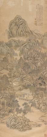 Qian Du 1763-1844 LOFTY MOUNTAN IN SUMMER