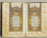 ORIENTALIA - Koran. Arab handwriting on paper smoo