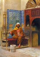 Osman, The harem  by Ludwig Deutsch