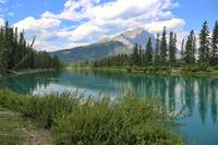 Bow River in Banff best by Carol Groenen