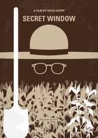 No830 My Secret Window minimal movie poster