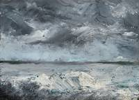 AUGUST STRINDBERG,   (ICE BOULDERS ON THE SHORE).