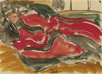 Arthur Garfield Dove 1880 - 1946 WOMAN ASLEEP