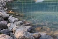 Lake Louise Rocks and Water  by Carol Groenen