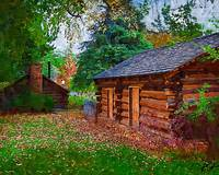 The Log Cabins by Kirt Tisdale