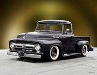 1956 Ford F100 'Tuxedo Junction' Pickup