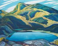 Franklin Carmichael's 1929 watercolour Lone Lake
