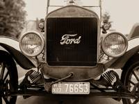 Classic Ford Model T at Car Show