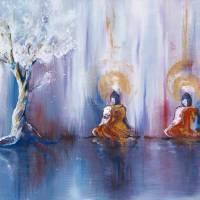 The Three Buddhas Art Prints & Posters by Sage Sansone