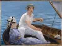 Boating, Édouard Manet, 1874