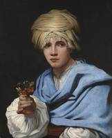 Boy in a Turban Holding a Nosegay ca. 1658 - 1661