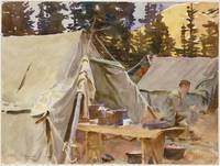 Camp at Lake O'Hara , John Singer Sargent